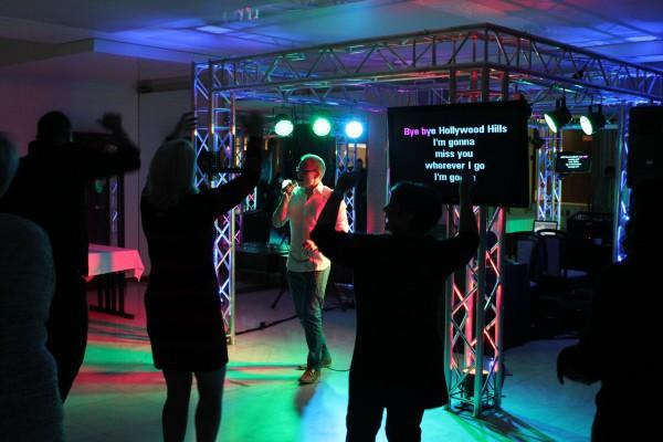 Karaoke - Submarina - yritysjuhla