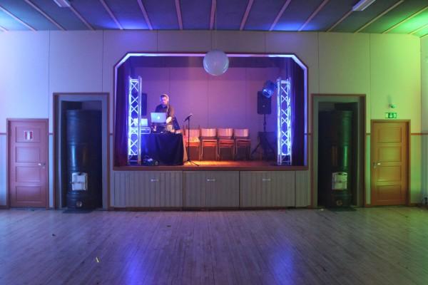 Lamminpään Osuuskuntatalo - DJ - trussi